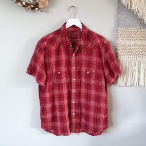Lucky Brand | Short Sleeve | Button Down Shirt